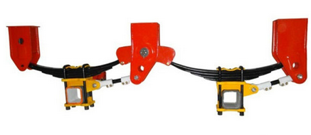 EXPORT SEMI TRAILER SUSPENSION light duty suspension