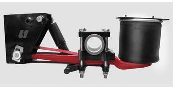semi truck parts L1 rigourous light duty suspension