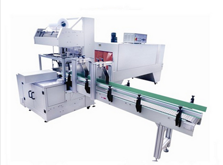 Glass Bottle Shrink wrapping hand machines