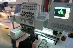 DW1201 embroidery machine