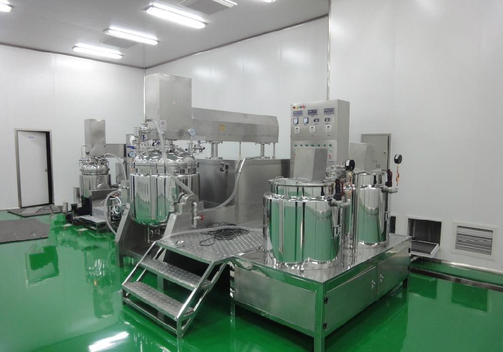 MEC vacuum homgenizing emulsifying machine