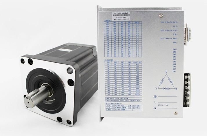 High power LC 130 series Three-phase hybrid stepping motor