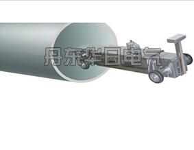 Самолазящая машина трубопровода по магнитной ориентации