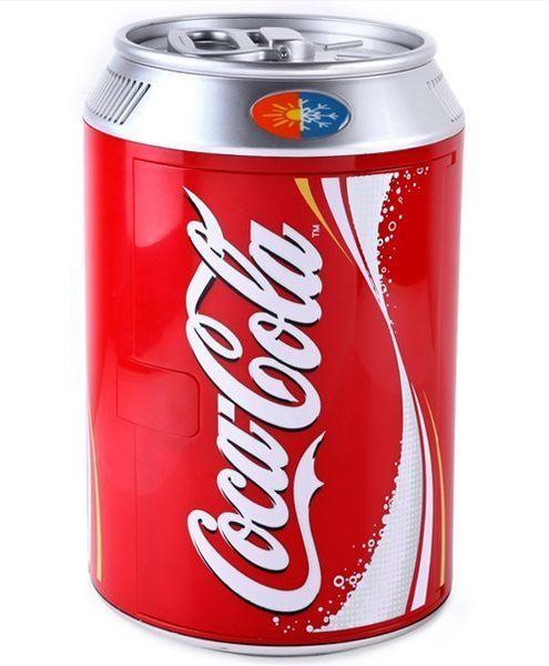Mini fridge MEC-11L coca cola shape portable refrigerator mini bar car refrigerator 12v