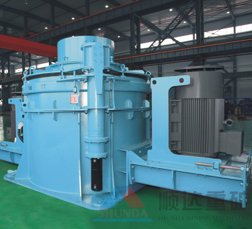 PLC系列立轴冲击石料制砂机