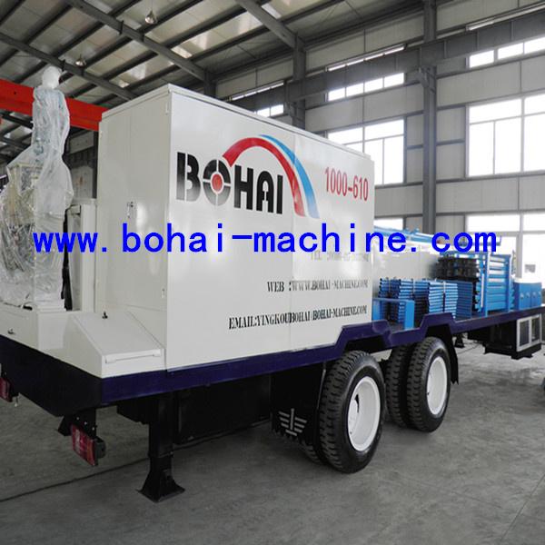 Формовочная машина плиты арки BH-1000-610