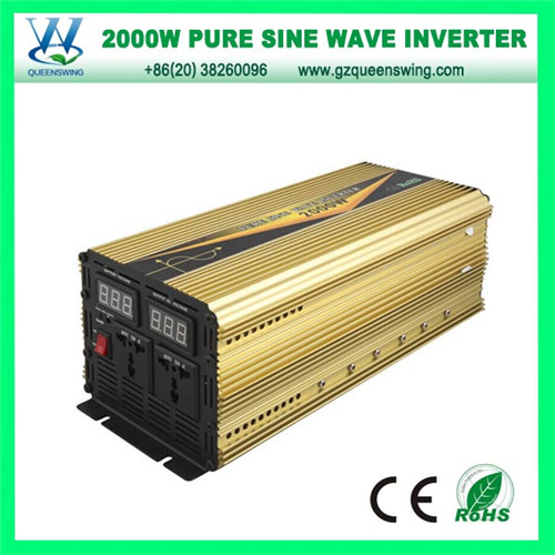 2000W Pure Sine Wave DC AC Power Inverter (QW-P2000D)