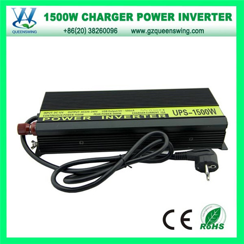 1500W DC to AC Car Power Inverter Charger Inverter (QW-C1500MC)