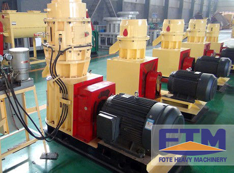 Biomass Fuel Pellet Mill with CE Certification for Sale