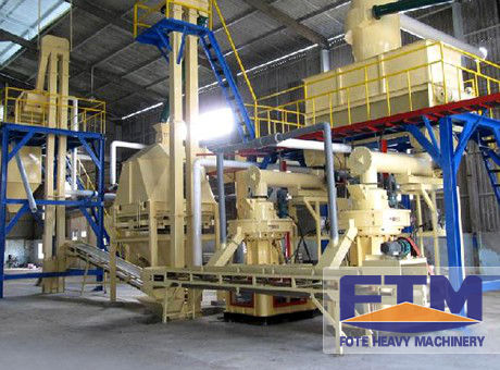 Advanced Complete Biomass Pellet Plant for Hot Sale