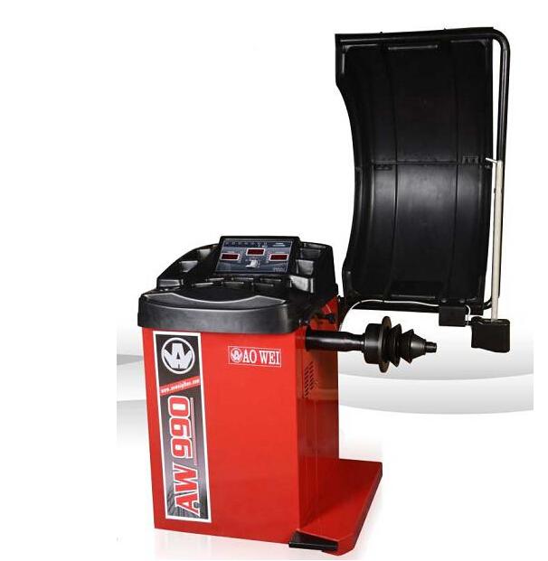 Полноавтоматический прибор динамической балансировки шины AW-990