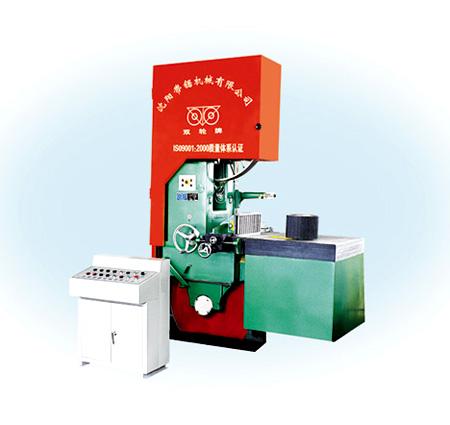 MJ3510B型1060mm自动喂料木工带锯机