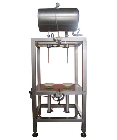 double-headed manual tank filling machine (1.5-2 L  open type )