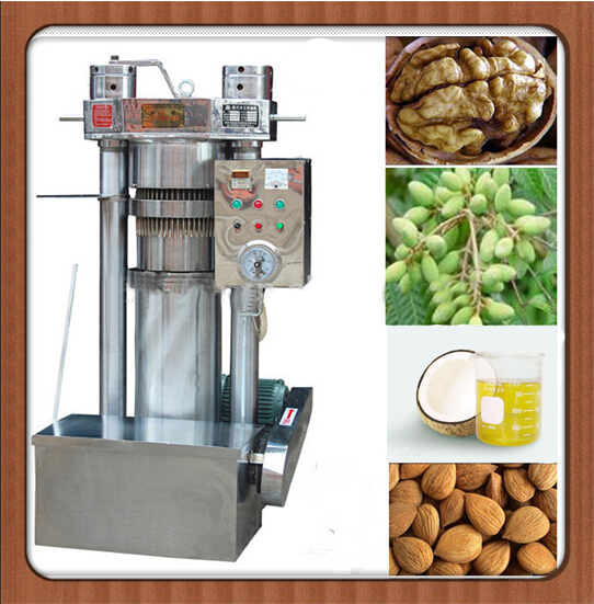 Cold pressing virgin coconut oil hydraulic press machine
