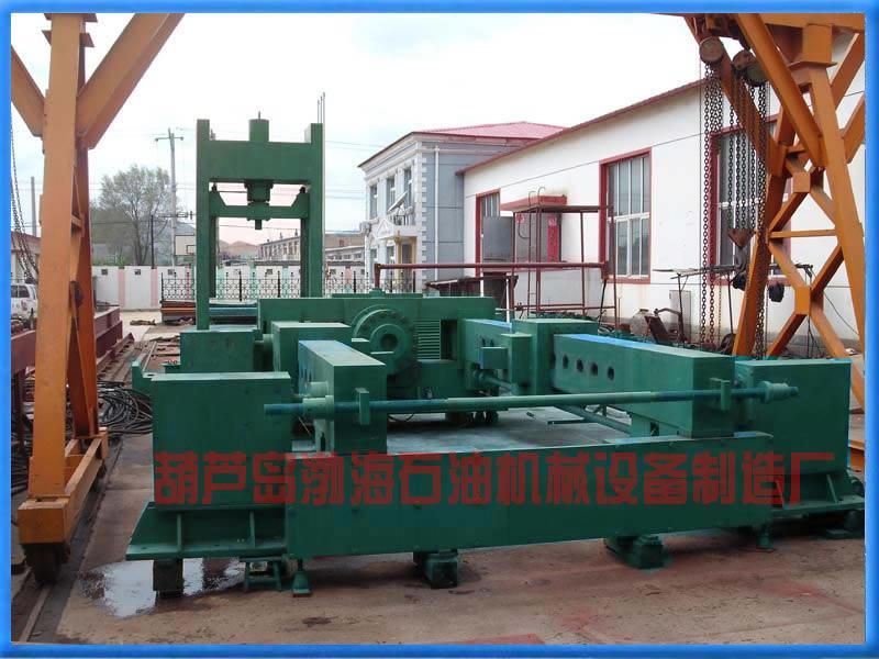 Горизонтальная машина для демонтажа и монтажа гидравлического давления