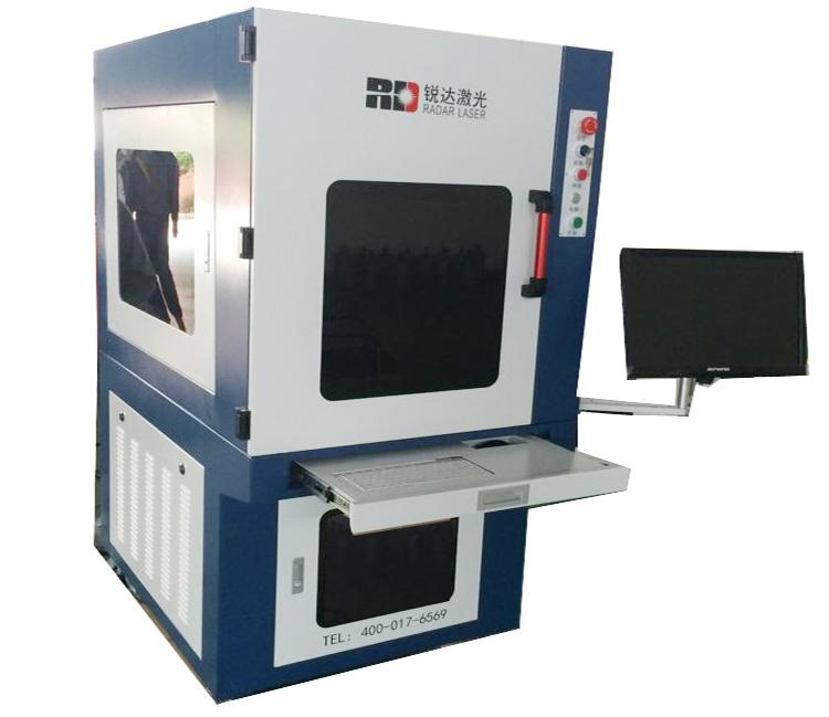 Машина для изготовления марки ультрафиолетовым лазером (лазерная гравировальная машина)