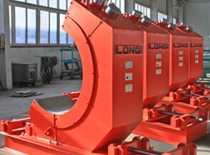 球磨机排矿用弧形除铁系统
