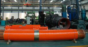 Large Mine Submersible Pump Unit