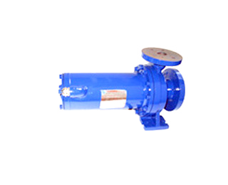 Pump for locomotive cooling system