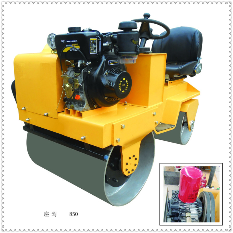 OK-700  Double Drum Gasoline  Vibratory Road Roller