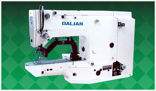 High speed lock stitch bar tracking machine