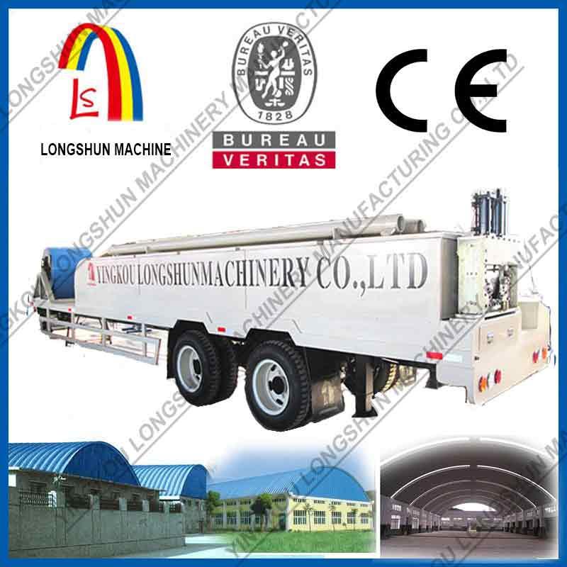 Оборудование для строительства бескаркасных арочных сооружений LS-914-610( LS-240)