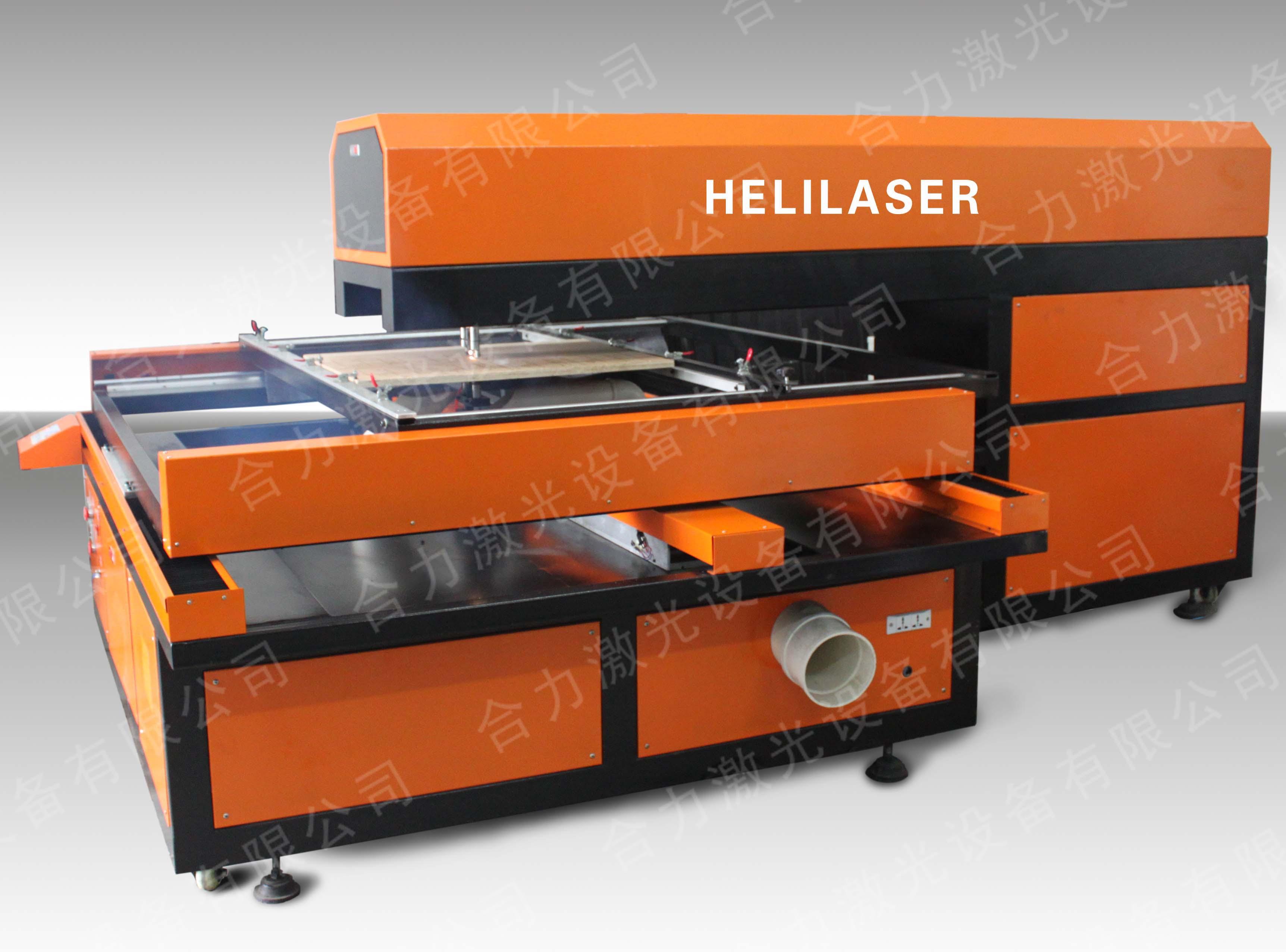 Машина  для  резки с лазерным шаблоном ножа  двойной головки