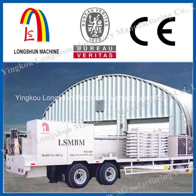 Оборудование для строительства бескаркасных арочных сооружений LS-1000-610