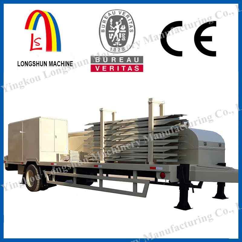 Оборудование для строительства бескаркасных арочных сооружений LS-914-400