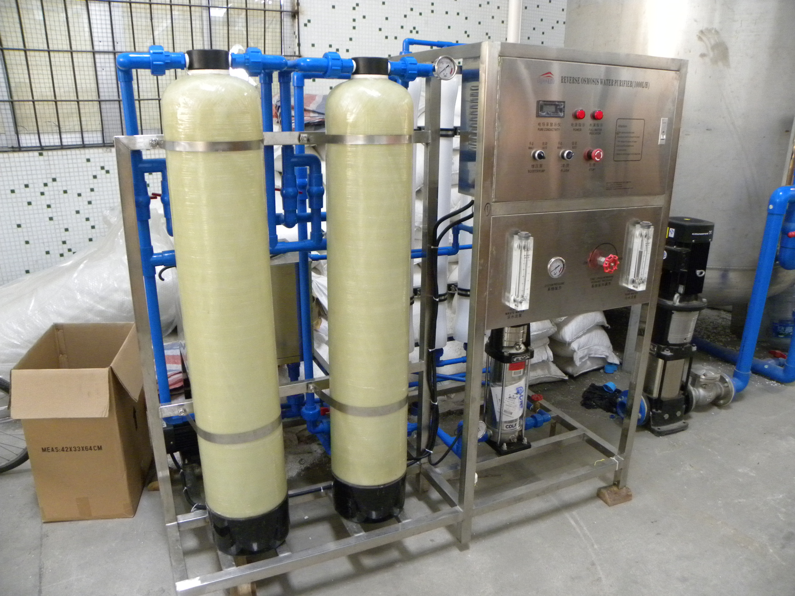 1T RO water purification system
