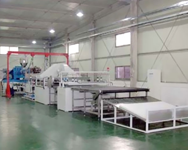 Линия производства и техника пластической шёлковой прокладки