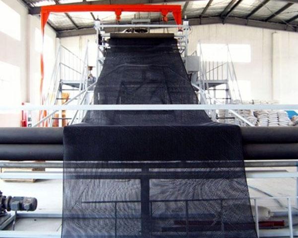 Линия для производства и техника трехслойной упаковочной сети