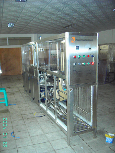 100BPH 5 gallon automatic water filling machines