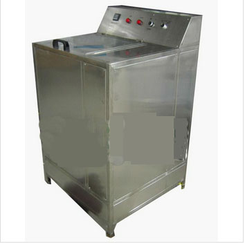 Brush washing bottle machine