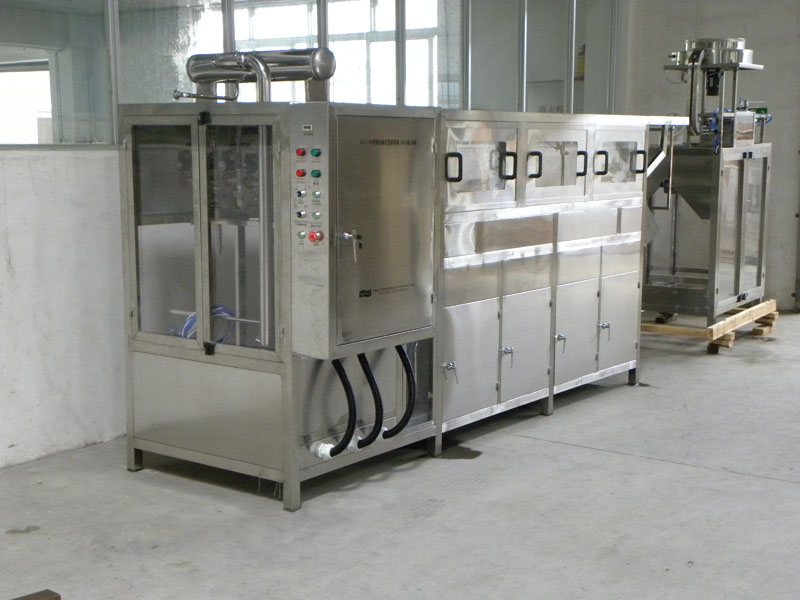 450BPH 5 Gallon Automatic Water Filling Machine (Three Rows Six Stations)