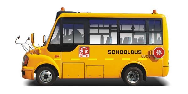 Новые государственные стандартные специальные школьные автобусы серии DD6550FX