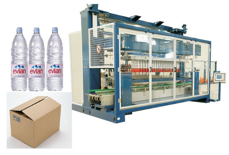Case Packer and Sealing Machine