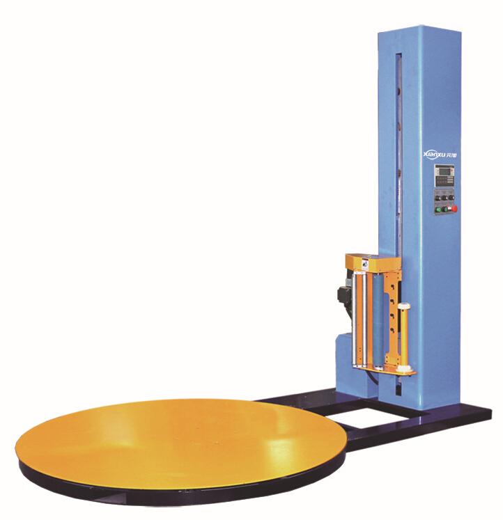 自动缠绕膜机 裹膜包机