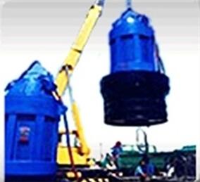Агрегат подводного электронного насоса осевого (смешанного ) потока