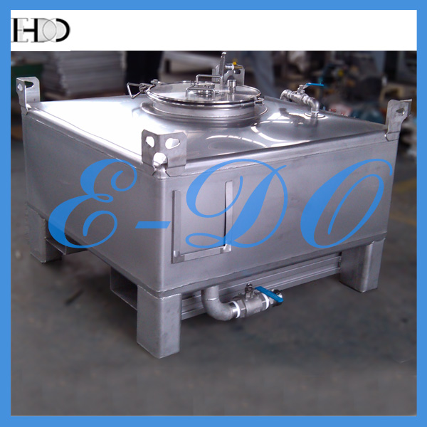 Cubic Stainless Steel Intermediate Bulk Container/IBC Tote