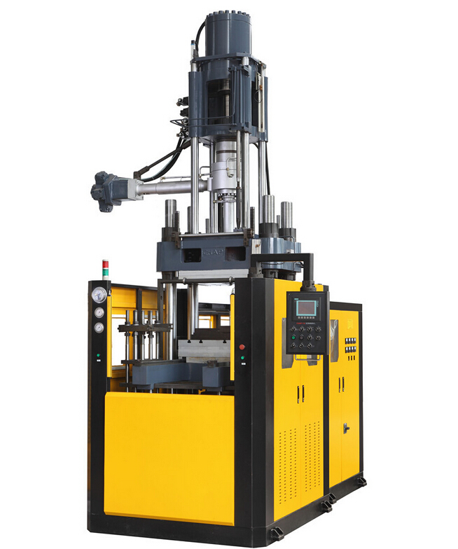 Rubber seal compression molding machine