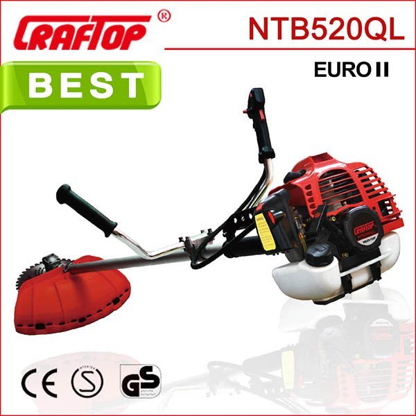 52cc 1.6kw Brush Cutter NTB520QL with CE EUROII