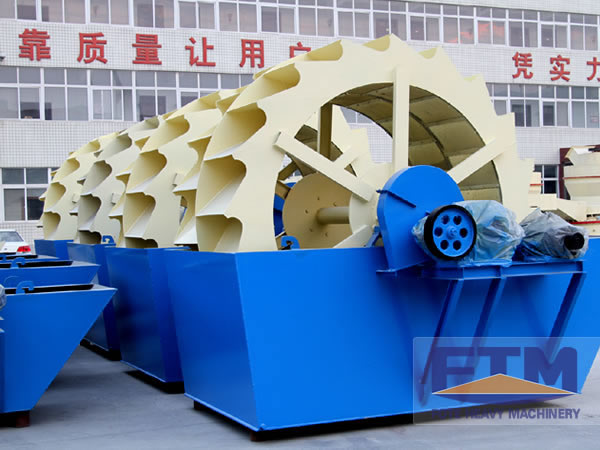 China Sand Washing Plant Price/Sand Washer Machine
