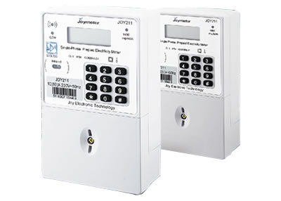 JOY211 Single Phase Prepaid Electricity Meter