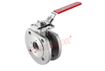 Wafer válvula de bola de alta plataforma, Americana standard, WB-A01FH