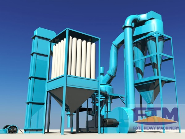 Limestone Powder Grinding Plant/Talc Powder Grinding Mill In China