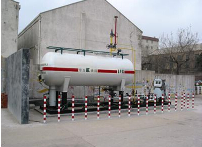 LPG Integral Skid-mounted Refueling Station