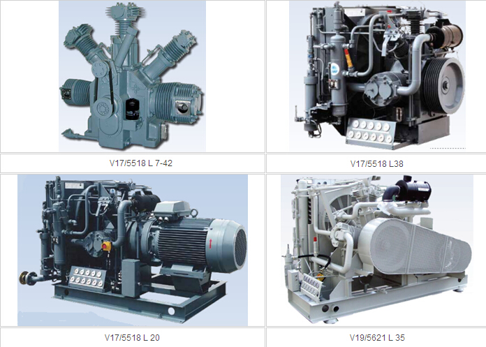 Air Cooled Compressors, V series
