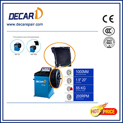 Car workshop used wheel balancer with CE