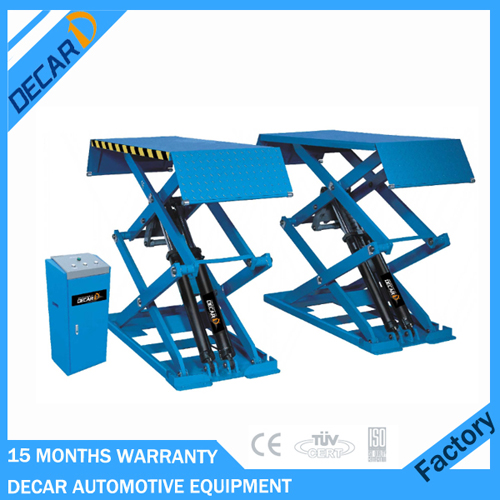 Car repair used inground car lift for workshop